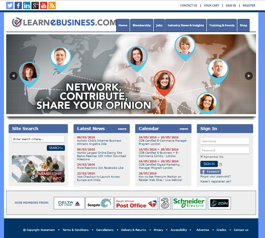 Learnebusiness.com Online Community