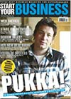 Start Your Business Magazine Jamie Oliver Cover